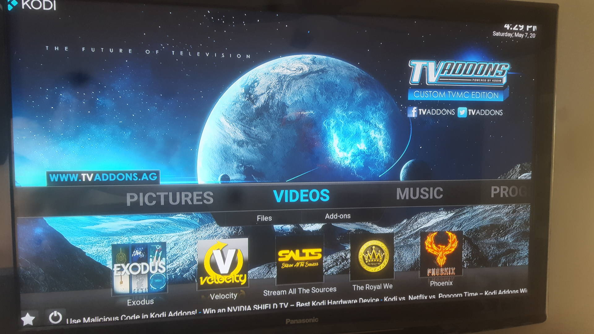 How to Install TV Addons in Kodi