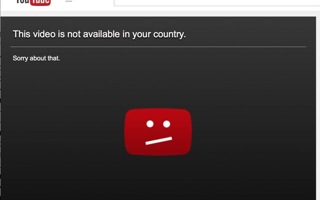 Video not allowed in your country [SOLVED] for YouTube & Kodi
