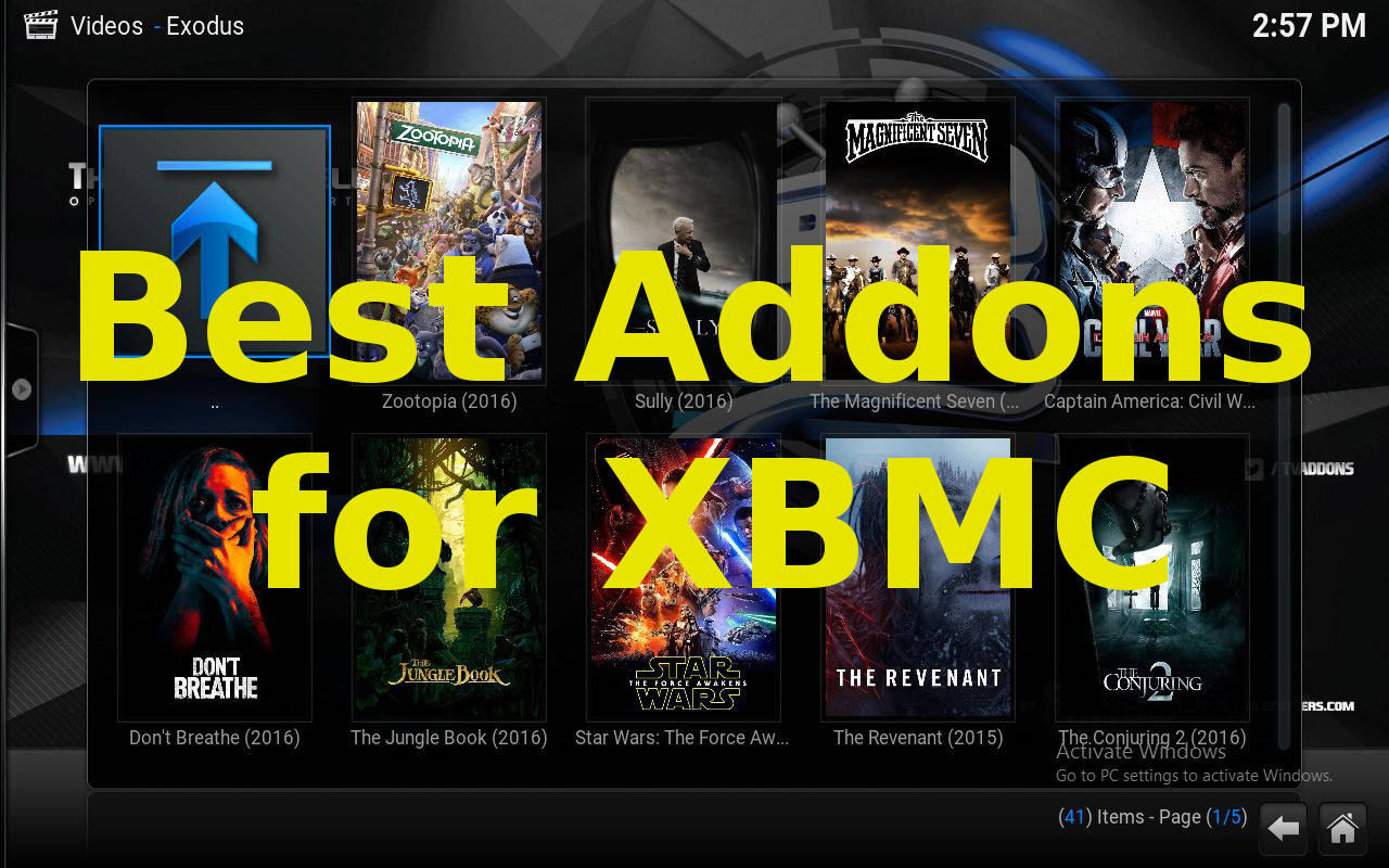 Best Addons for XBMC
