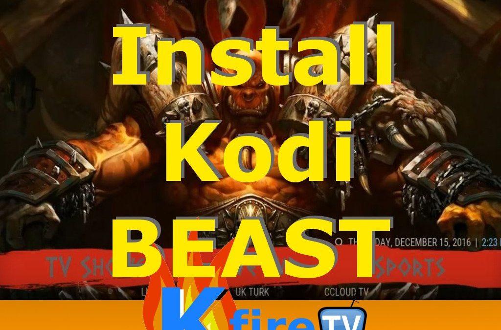 Install Kodi Beast Build on Fire Stick and Fire TV