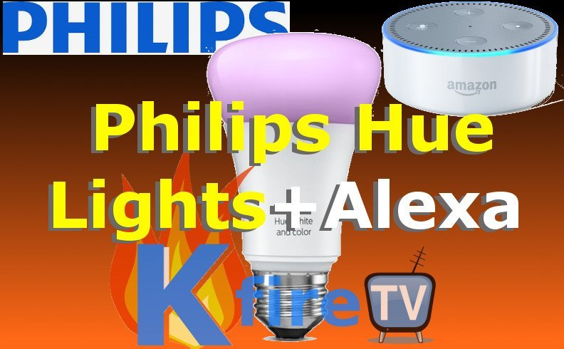 Philips Hue Lights + ALEXA: Video Demo & Overview