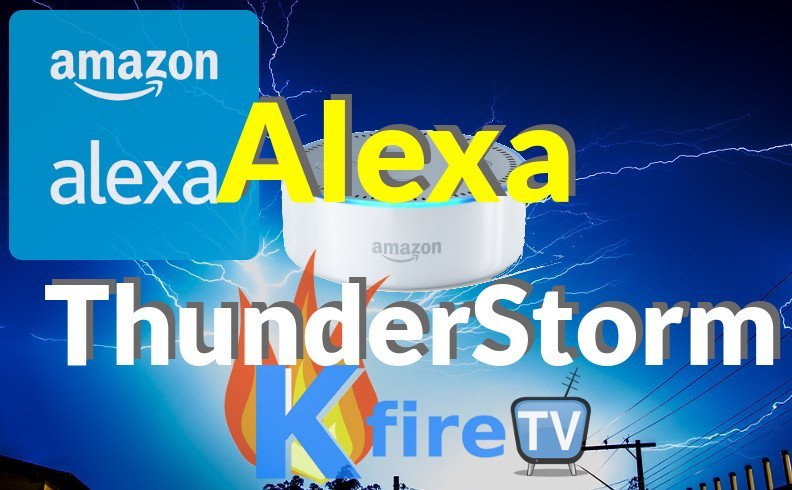 Alexa Thunderstorm: Philips Hue Lightning Synchronized with Thunder & Rain Sounds