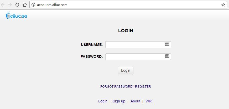 how to delete alluc account