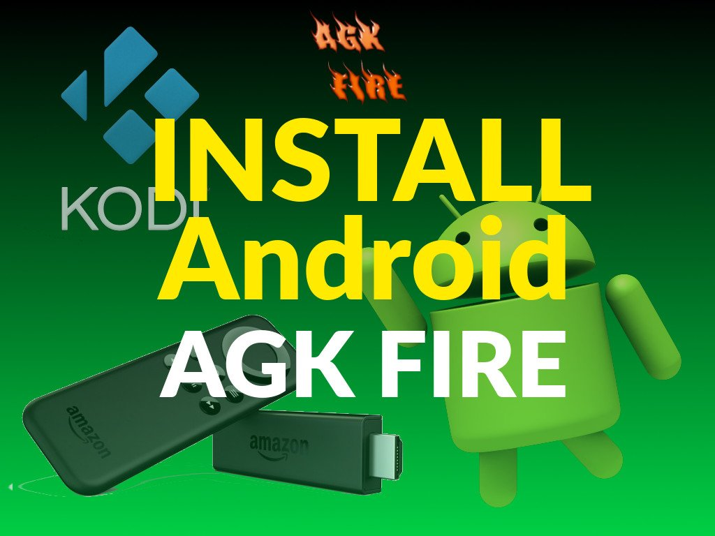How To Install AGK Fire Sideloader App on Android to Install Kodi