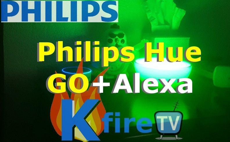 Philips Hue GO Light: Change colors with Alexa (Voice) HUEGASM = Lava Lamp + Reggae + Rainbow Mode
