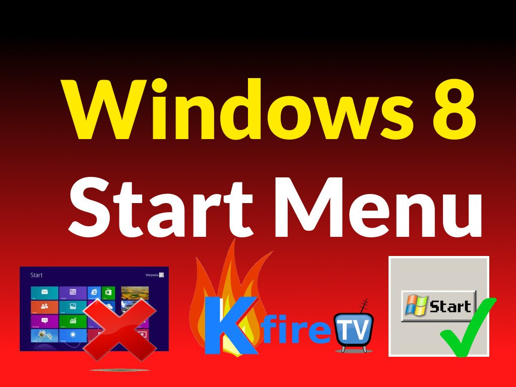 Windows 8 Start Menu: Change it to Look Like Windows 7 Start Menu (Video)