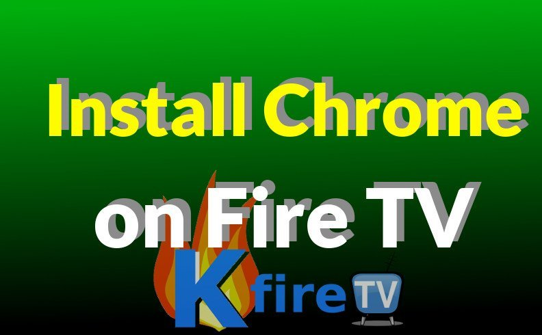 How to Install CHROME on Fire TV & FireStick