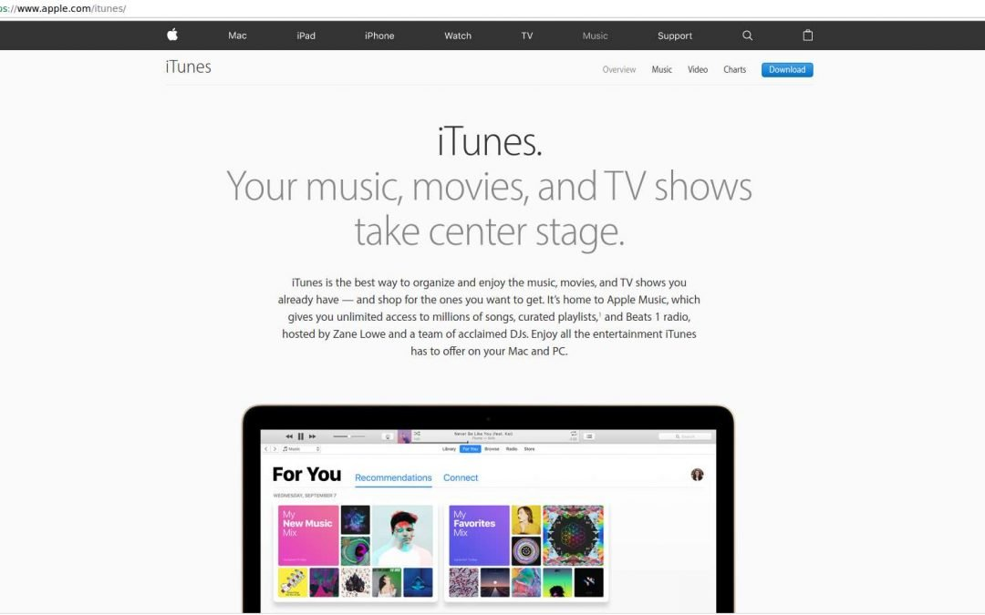 How to Install iTunes on Mac OR Windows Computers
