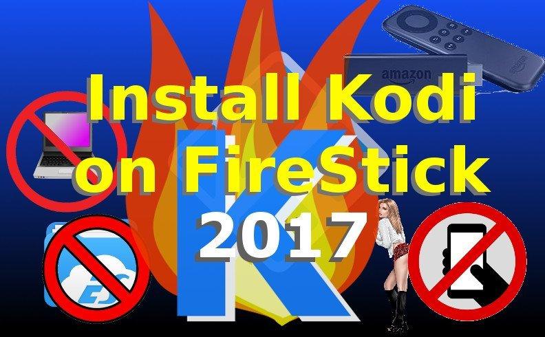 How to Install Kodi No Computer FireStick & Fire TV