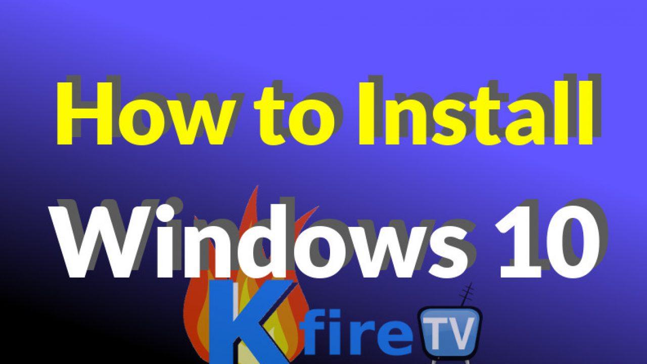 How To Install Latest Kodi 17 1 On Windows 10 Kfiretv