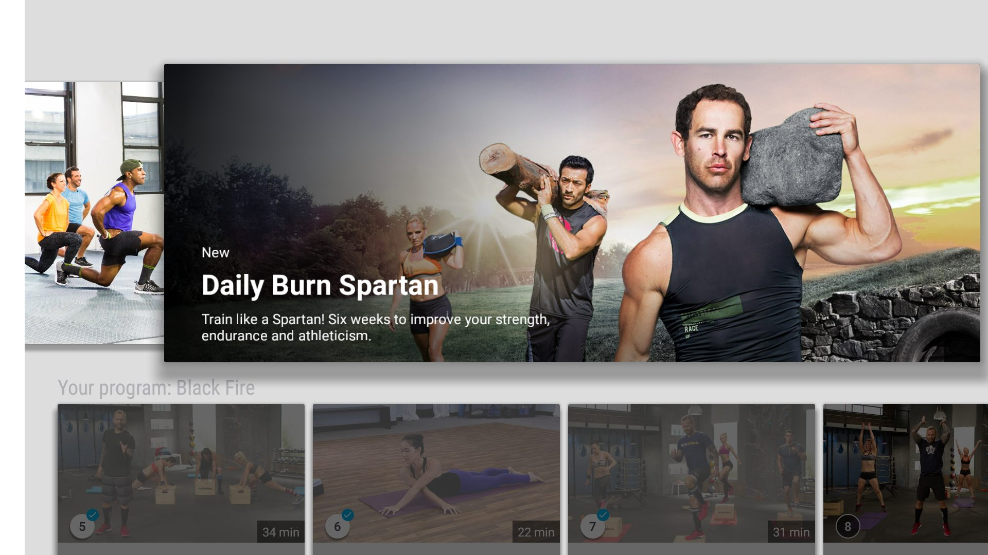 Fitness Channels on Amazon Firestick
