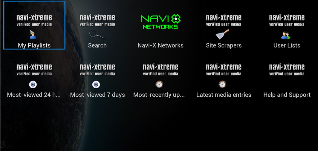 How to Install Kodi 17 Navi-X or Kodi 16 Navi-X