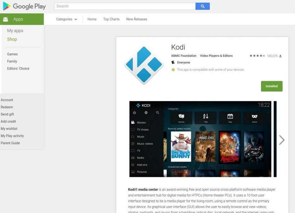 Kodi Download for Android and Install