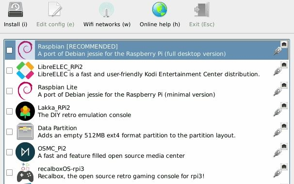 Install Pinn Raspberry Pi Operating Systems