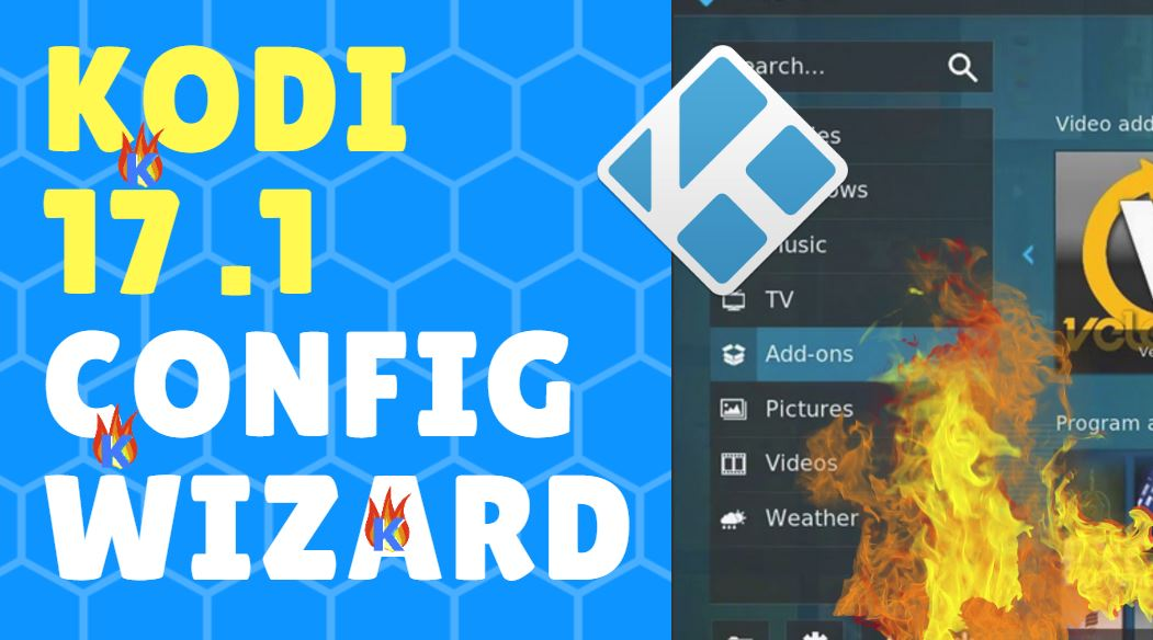 How to install kodi 17.1 config wizard for TVAddons
