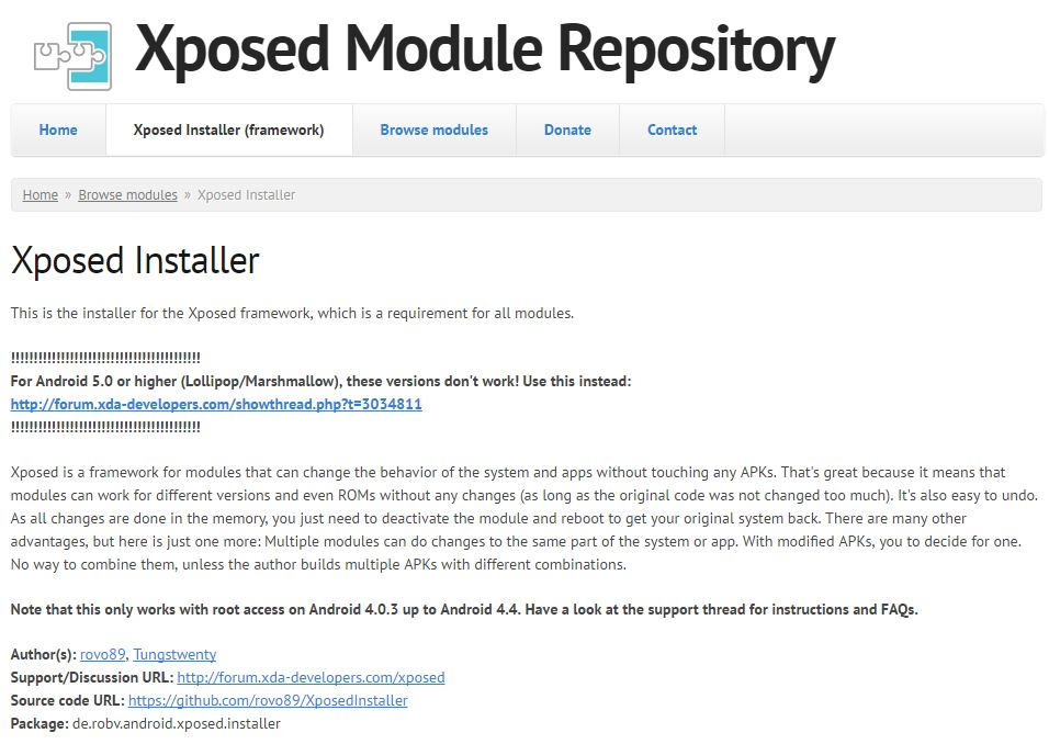 Xposed Installer: How to Install Without ROOT on Android Smartphones