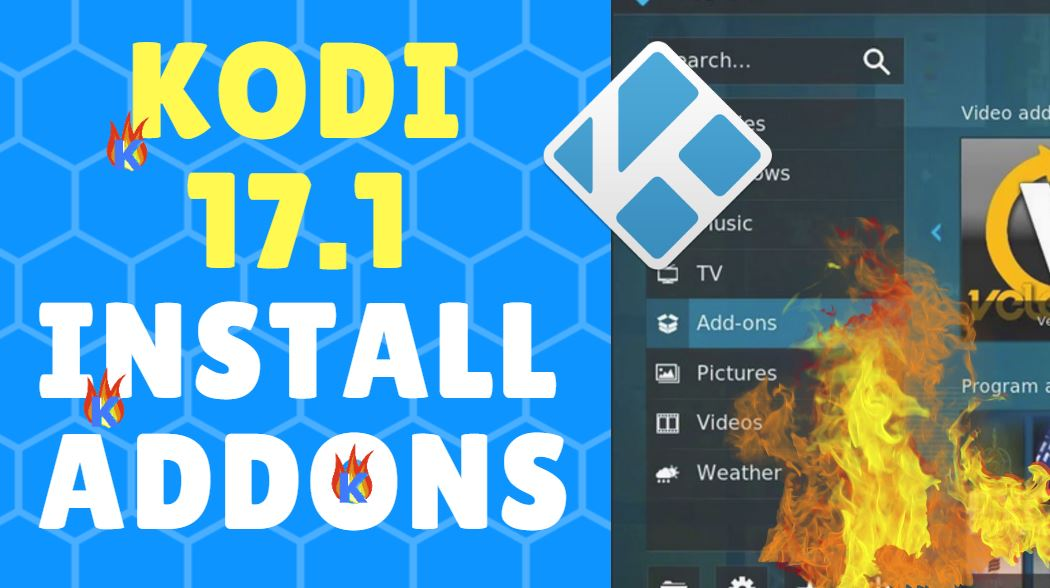 Kodi 17.1 How to Install Addons + Top 5 TV Addons for Krypton