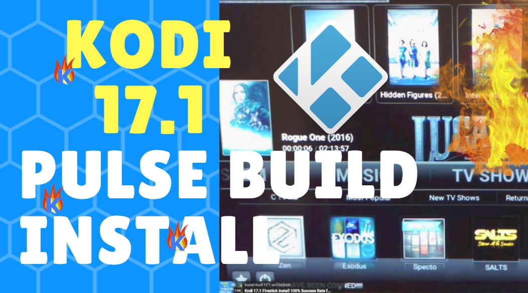 Kodi 17.1 Pulse Build Install on FireStick & Fire TV
