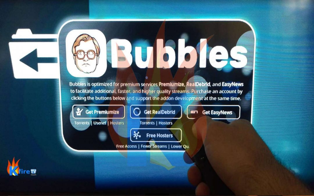 How to Install Bubbles Addon on Kodi