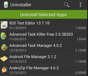 Uninstaller for Firestick to free up disk space