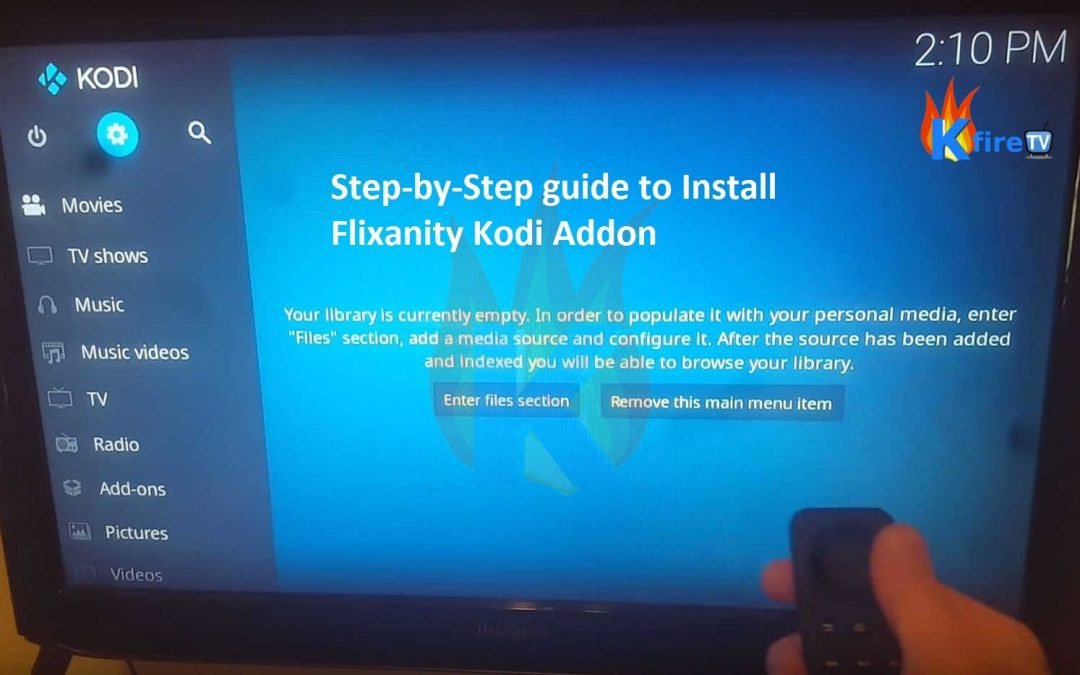 Flixanity Kodi Add-on Install Guide