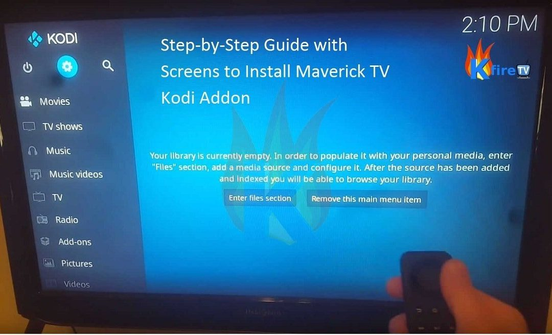 Maverick TV Kodi Install Guide: Step-by-Step w/Screenshots
