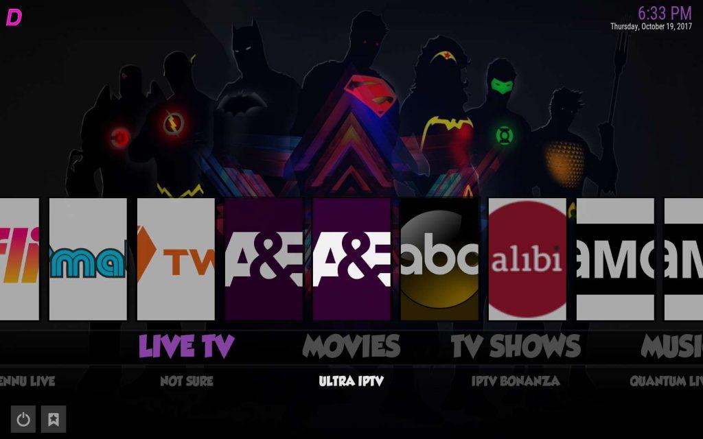 Best Kodi Build for Live TV - Boom Shakalaka Live TV