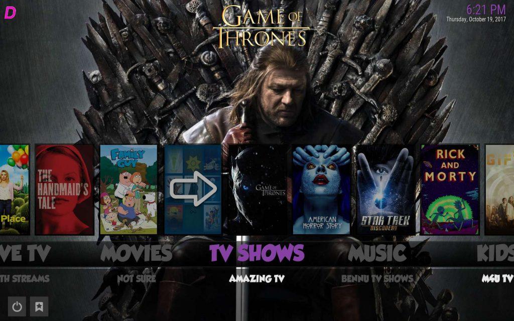 Best Kodi Build for TV - Boom Shakalaka TV Shows