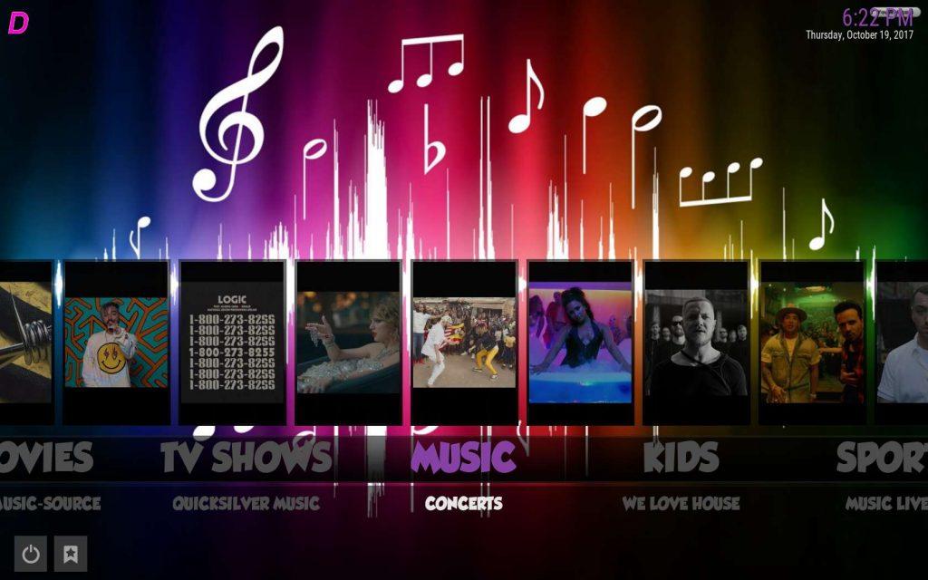 Best Kodi Build for Music - Boom Shakalaka Music