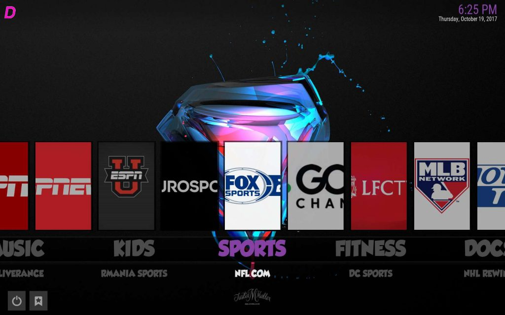 Best Kodi Build for Sports - Boom Shakalaka Sports