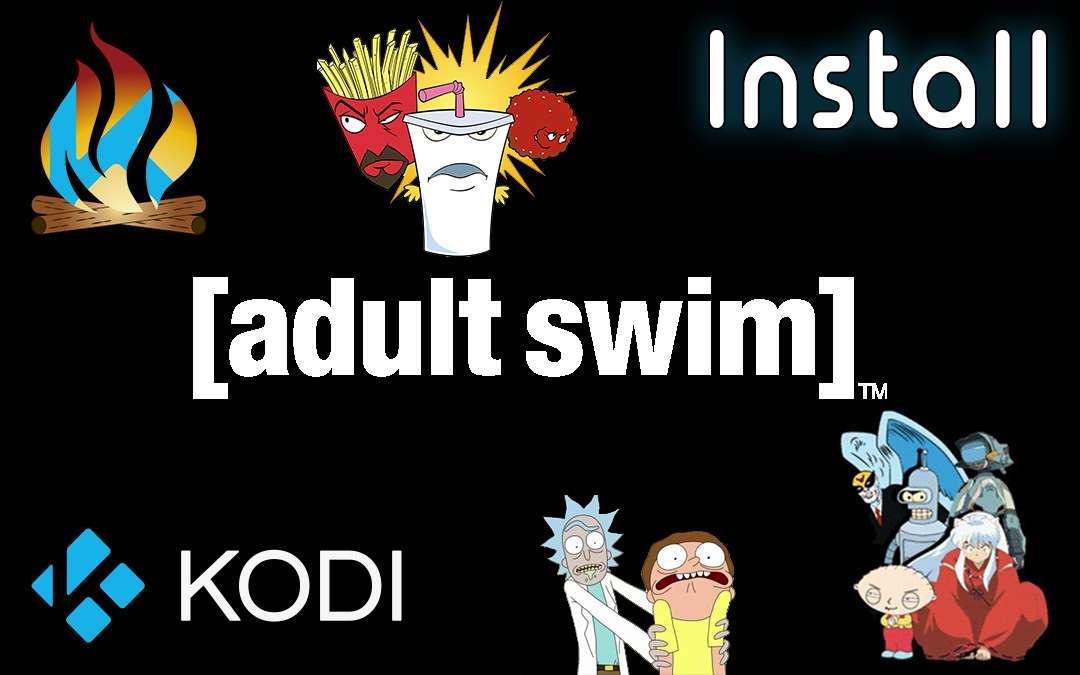 Adult Swim How to Install Kodi TV Addon Cartoons