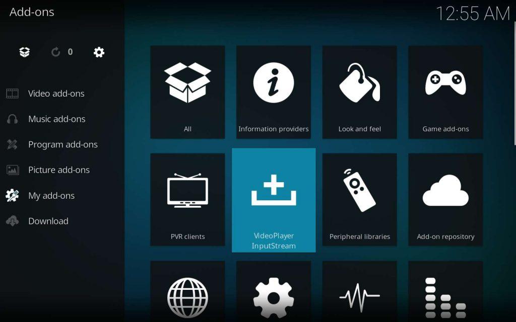 Choose VideoPlayer InputStream