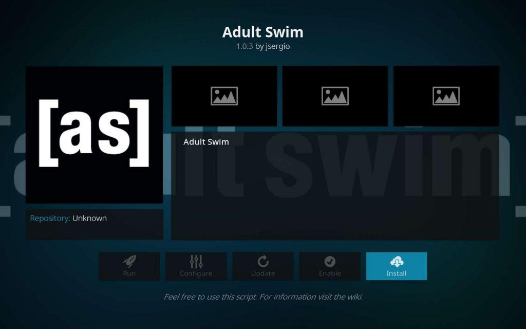 Install Adult Swim