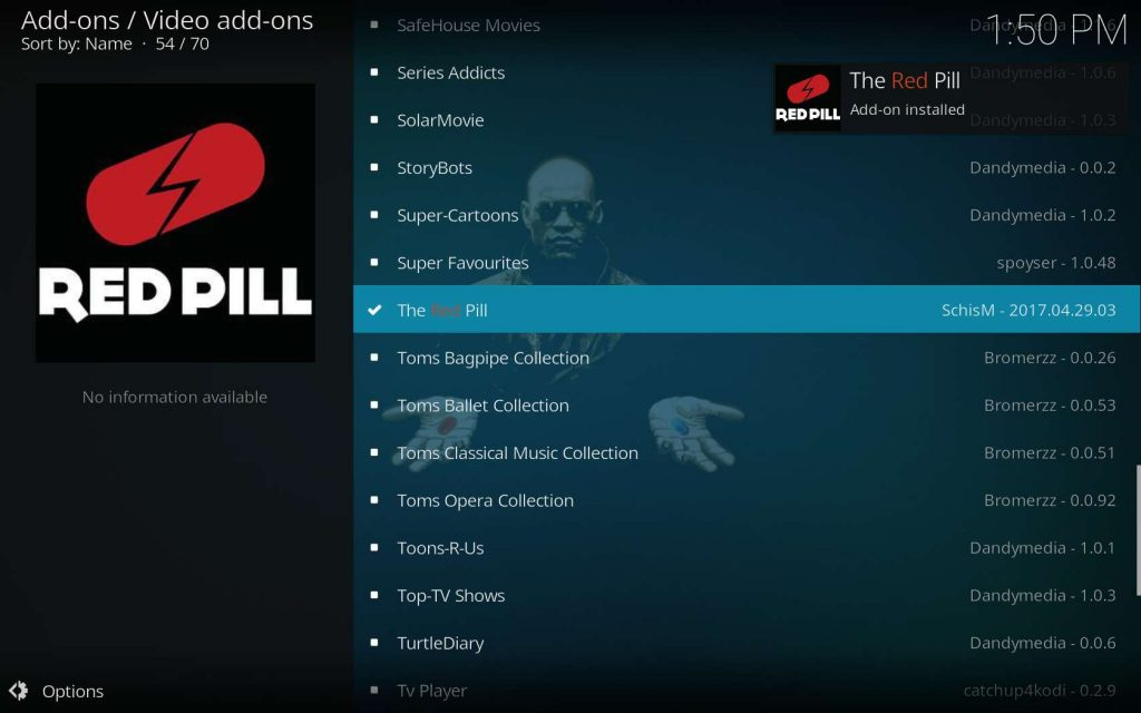 The Red Pill Installed