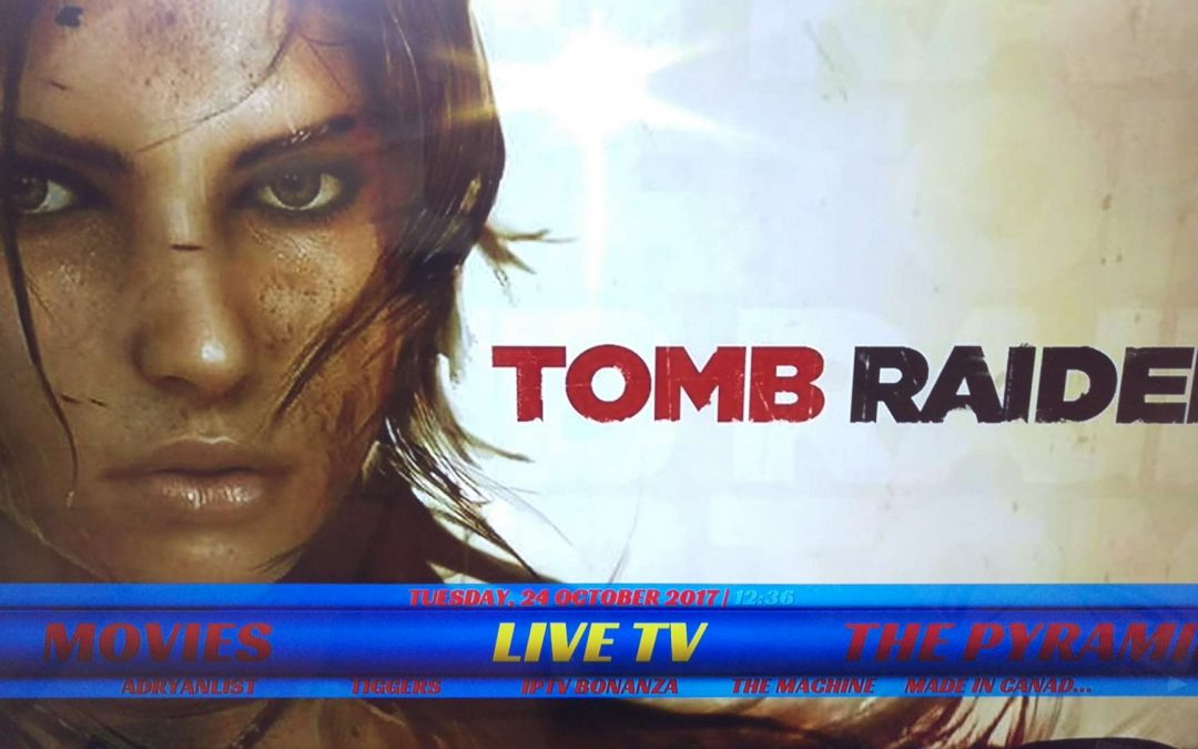 Kodi 17.4 Tomb Raider Build Install for Firestick / Fire TV