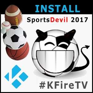 Kodi Install Sports Devil 2017 Addon