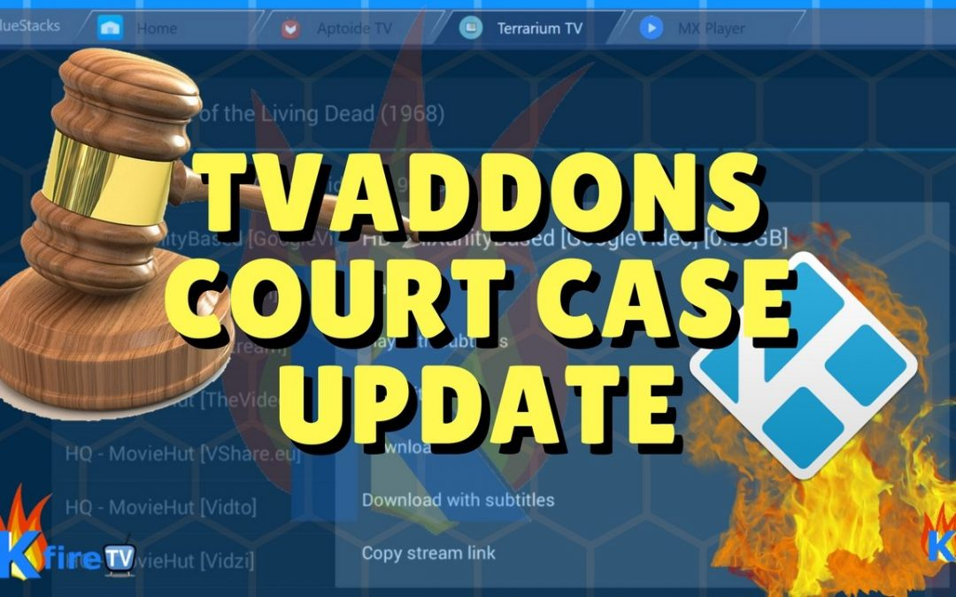 "TVAddons Court Case:  Kodi says ""We hope you lose"""