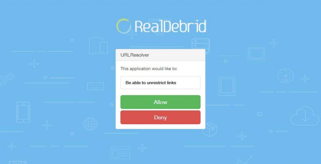 Allow URLResolver to Remove Link Restrictions with Real Debrid