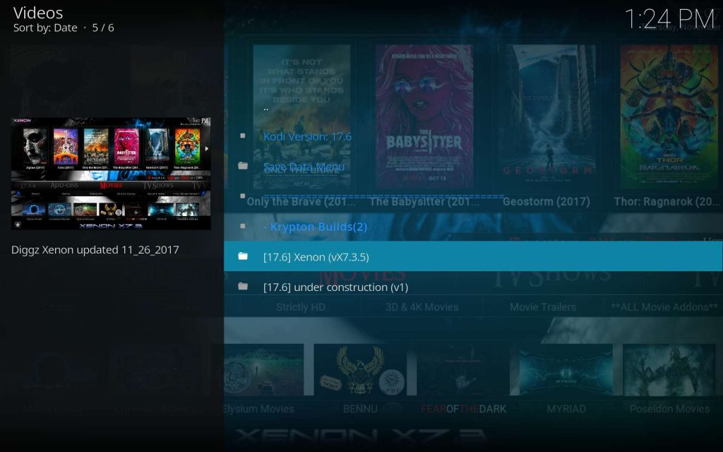 Choose the Latest Kodi Xenon Build