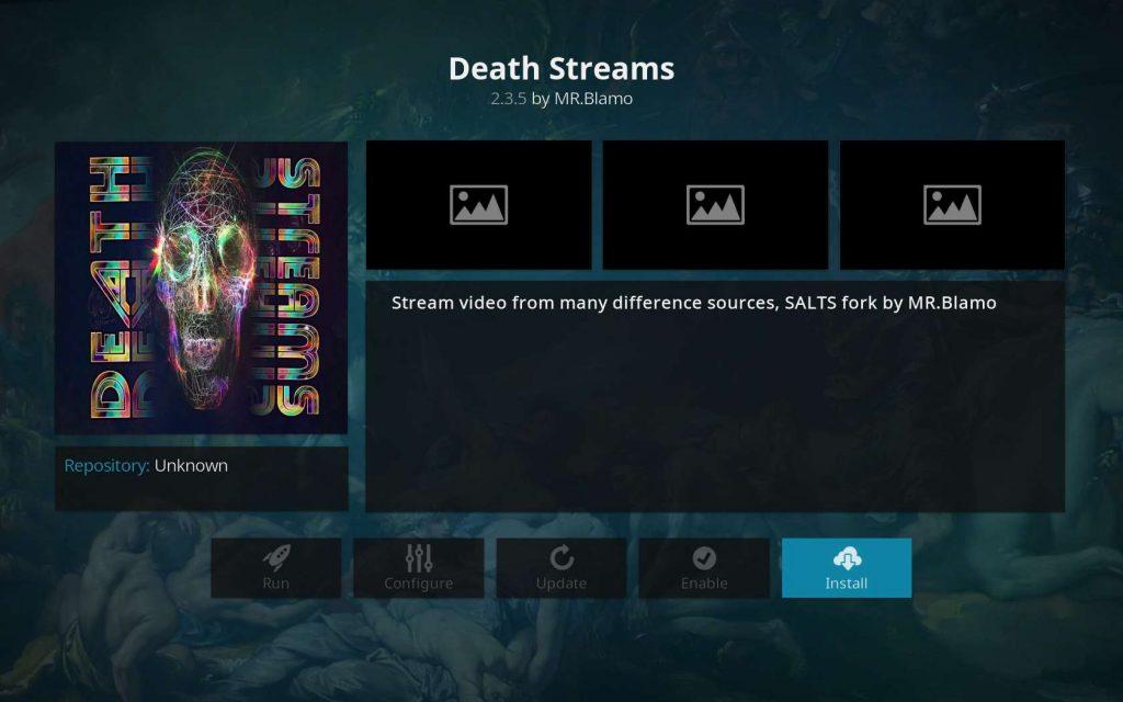 Death Streams - Hit Install