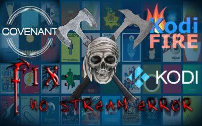 No Stream Available Fix Kodi TV Addons (+Covenant Module)