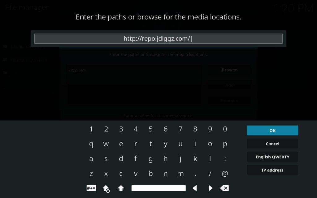Input Diggz Repo Source URL