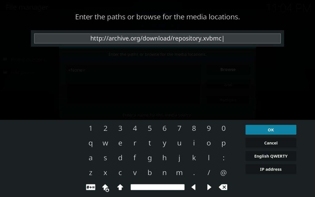 New Temporary Home Repo XvBMC URL