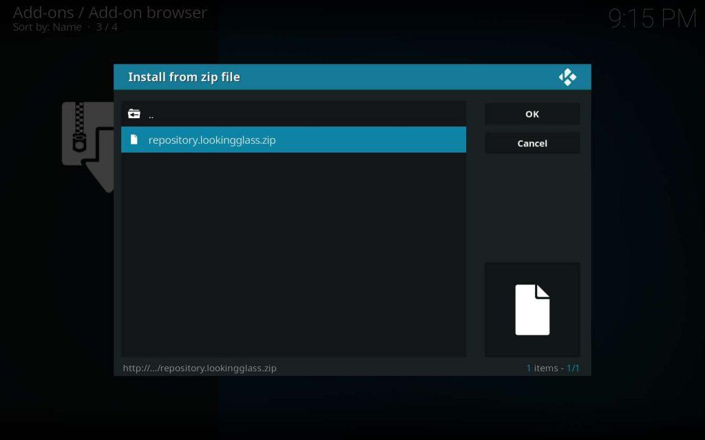 Select repository.lookingglass.zip File