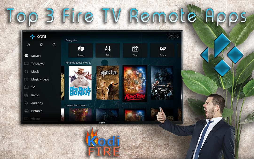 Fire TV Remote Apps Header