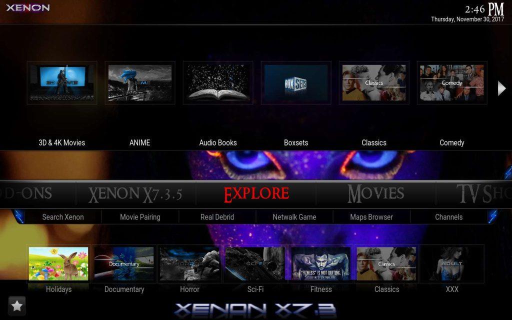 Xenon X7.3 Build