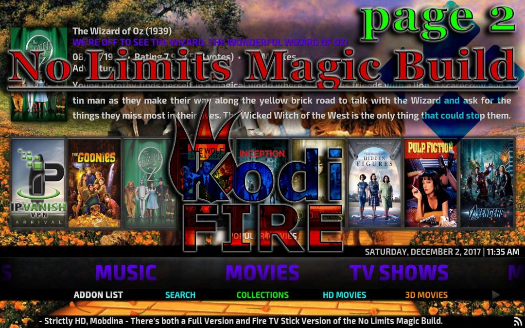 How to Install No Limits Wizard Magic Build on Kodi Firestick