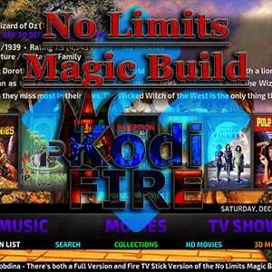 How to Install No Limits Magic Build on Kodi 17 Firestick / Fire TV