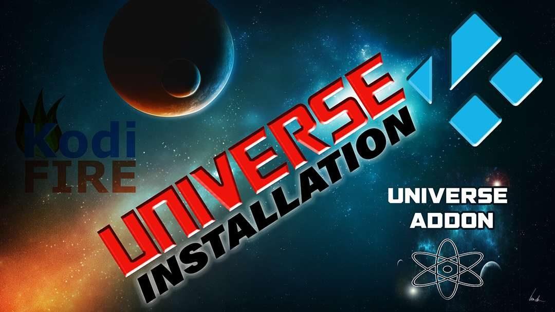 Universe Firestick Kodi Install