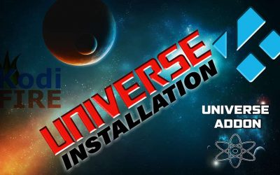 How to Install Universe Fire TV / Firestick Kodi TV Addon